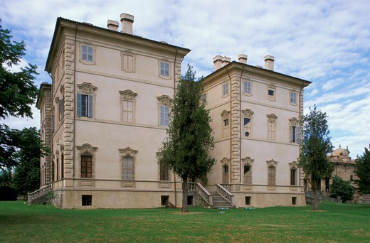 pallavicino villa and civic museum, busseto, italy : Stock Photo