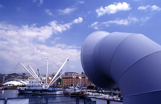 Stock Photo: 4261-26227 Ancient port, Expo Genoa, Liguria, Italy