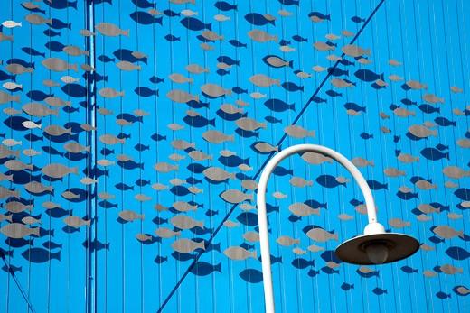 Aquarium, Ancient port, Genoa, Ligury, Italy : Stock Photo