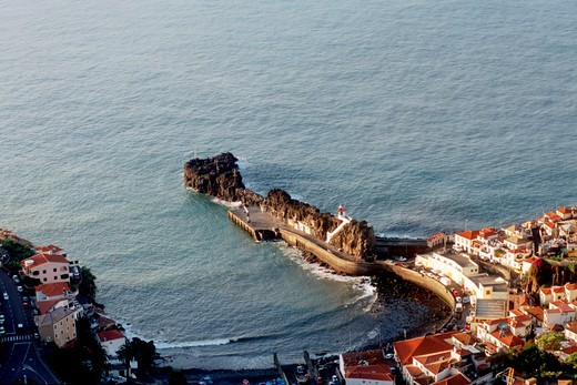 Stock Photo: 4261-27759 Lighthouse, Camara de Lobos, Funchal, Madeira Island, Portugal, Europe