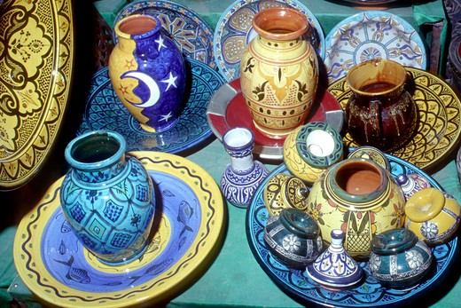 Handicraft, Taroudant, Morocco, North Africa : Stock Photo