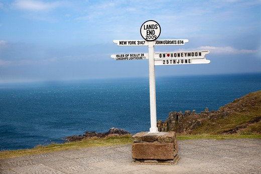 Land's End, Cornwall, England, Great Britain : Stock Photo