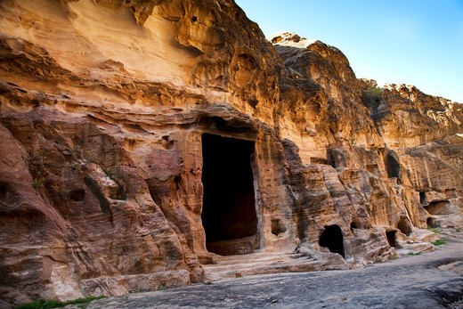 Stock Photo: 4261-28509 Middle East, Jordan, Little Petra, Beida, Al Beidha is a very important site for visitors in Wadi Musa