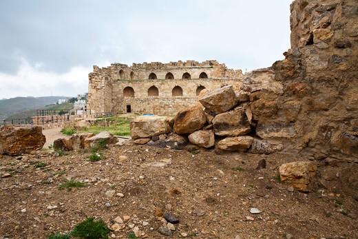Stock Photo: 4261-28548 Middle East, Jordan, Karak Castle, the famous Crusader castle
