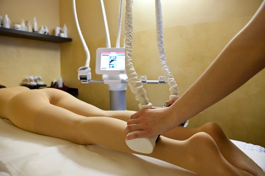 Bodycare treatment, Grand Hotel Helvetia, Porretta Terme, Bologna, Emilia, Italy, Europe : Stock Photo