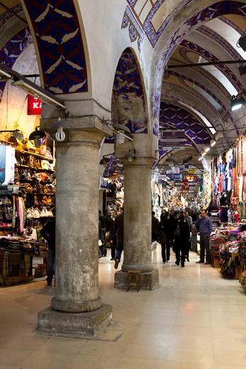 The Grand Bazaar , Istanbul, Turkey. : Stock Photo