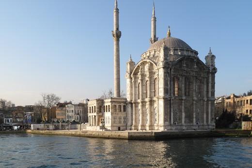 Ortakoy Mosque, Istanbul, Turkey : Stock Photo