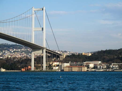 Stock Photo: 4261-29209 Ataturk Bridge, Istanbul, Turkey