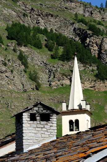 Val di Rhemes, Gran Paradiso national Park, Valle D'Aosta, Italy : Stock Photo