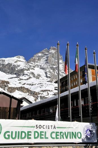 Stock Photo: 4261-31012 Ski, Cervinia, Aosta Valley, Italy