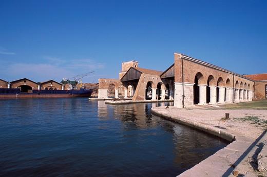 Arsenal, Venice, Veneto, Italy : Stock Photo