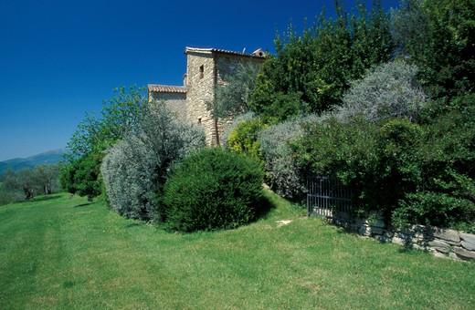 Stock Photo: 4261-33992 Locanda del Gallo, Gubbio, Umbria, Italy