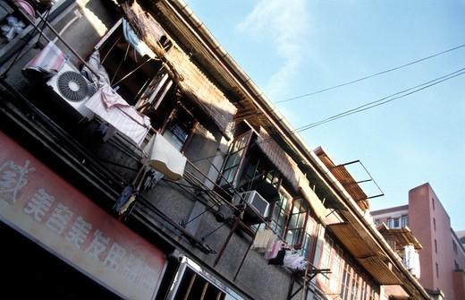 Stock Photo: 4261-34624 Houses, Shanghai, China, Asia