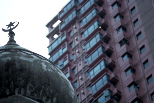Particular, Mosque, Hong Kong, China, Asia : Stock Photo