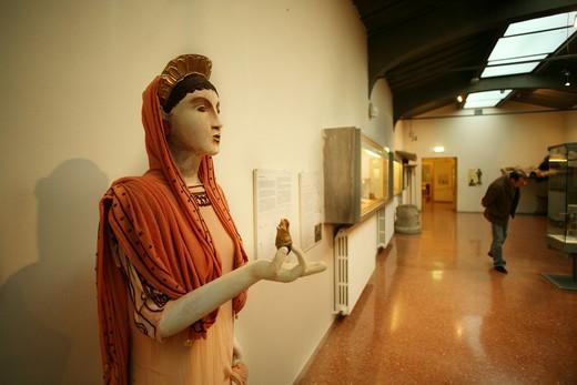 Etrurian museum, Marzabotto, Emilia Romagna, Italy : Stock Photo
