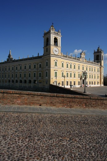 The Ducal Palace of Colorno also know as Reggia di Colorno, 18th Century, Colorno, Parma, Emilia Romagna, Italy : Stock Photo