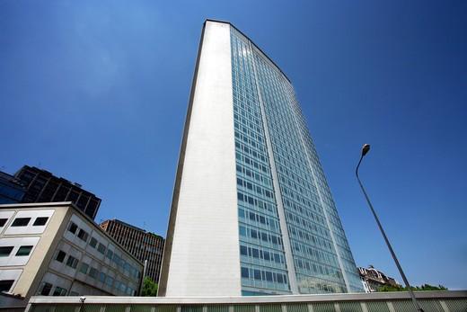 Stock Photo: 4261-38218 Pirelli building, Milan, Lombardy, Italy