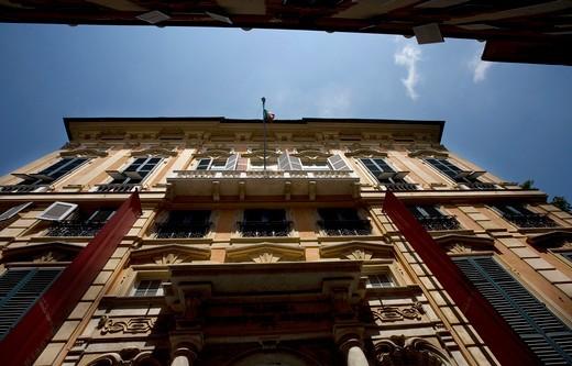 Stock Photo: 4261-38336 Palazzo Bianco, World heritage UNESCO site Via Garibaldi, Strade Nuove,Rolli Palaces, Genoa, Italy