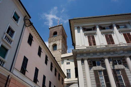 Palazzo Ducale, Genoa, Ligury, Italy : Stock Photo