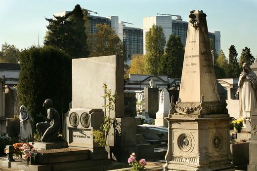 Stock Photo: 4261-38737 Monumental Cemetery, Architect Carlo Maciachini, Milan, Lombardy, Italy, Europe