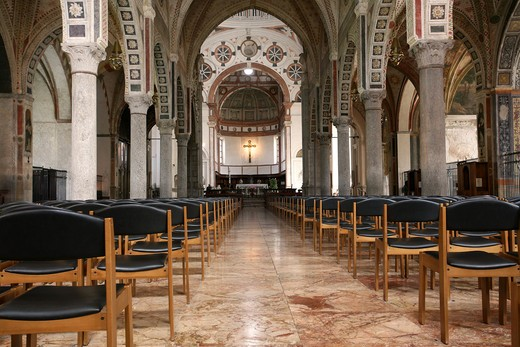Santa Maria delle Grazie church, Milan, Lombardy, Italy : Stock Photo