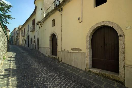Foreshortening, Parolise, Irpinia, Campania, Italy : Stock Photo