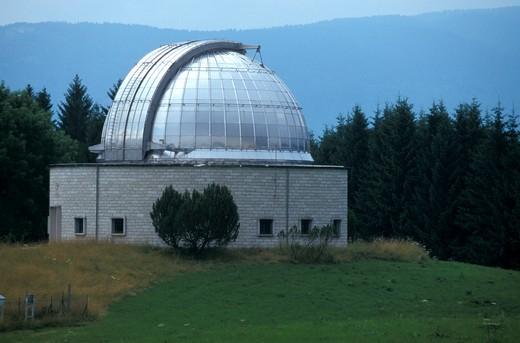 Observatory, Asiago upland, Bikers' itinerary, Veneto, Italy : Stock Photo