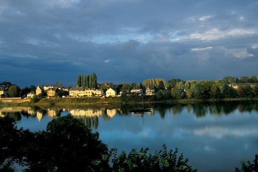Stock Photo: 4261-41309 Saumur, Pays de la Loire, France, Europe