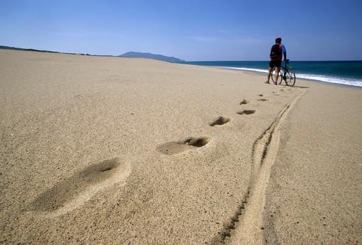 Stock Photo: 4261-41445 Beach, Piscinas, Costa Verde, Sardinia, Italy