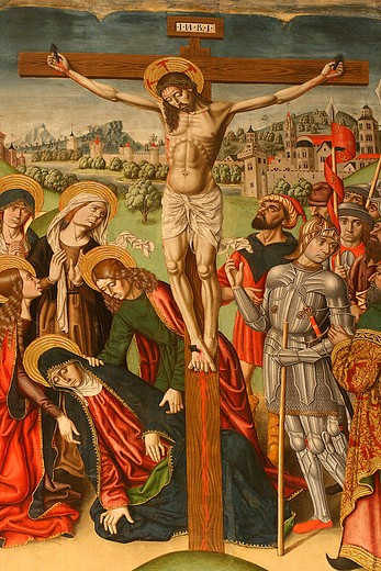Stock Photo: 4261-42637 The Crucifixion, Saltar-piece, 
