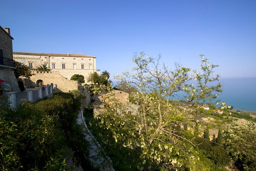 Stock Photo: 4261-4283 D'Avalos palace, Vasto, Abruzzo, Italy