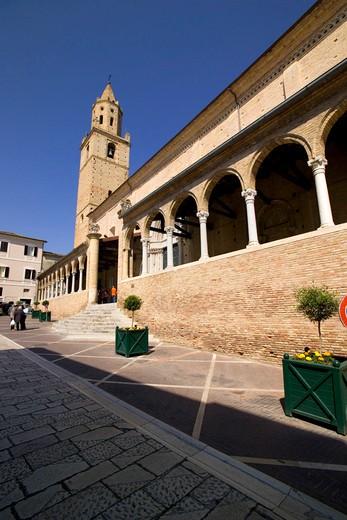 Stock Photo: 4261-4493 San Michele Arcangelo collegiate church, Città Sant'Angelo, Abruzzo, Italy