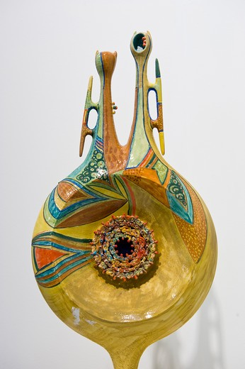 Ceramica, Marco Silecchia, Sassari, Sardinia, Italy : Stock Photo