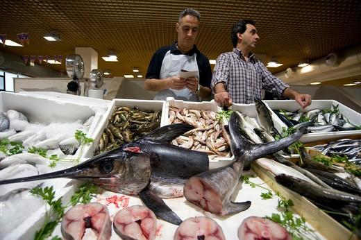 Mercato San Benedetto, Cagliari, Sardinia, Italy : Stock Photo