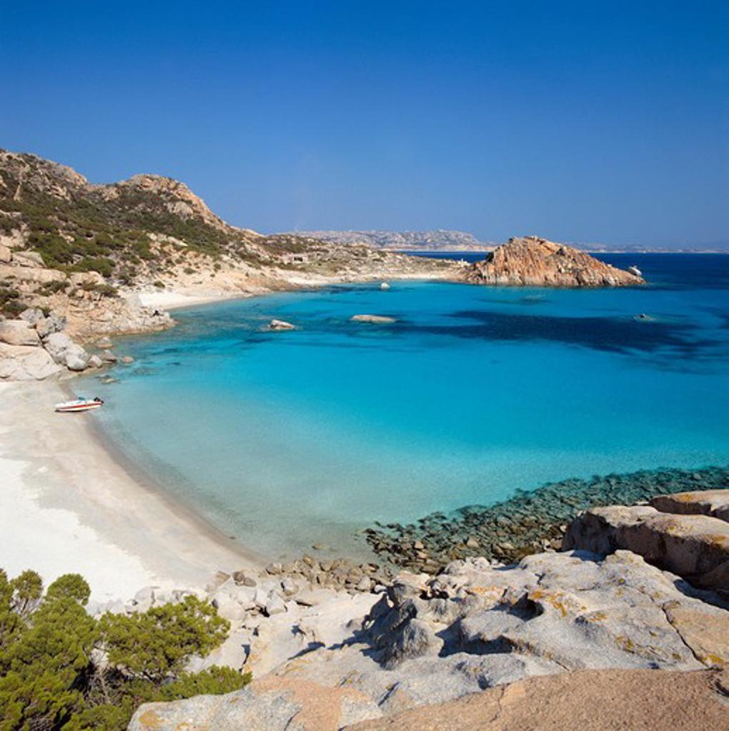Stock Photo: 4261-45992 Cala Corsara, Spargi Island, La Maddalena, Provincia di Olbia e Tempio, Sardinia, Italy, Europe
