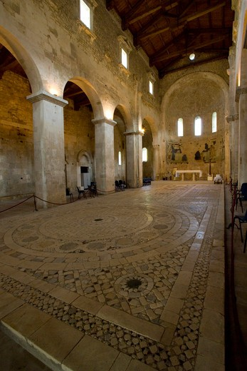 Stock Photo: 4261-4609 San Liberatore a Maiella church, Serramonacesca, Italy