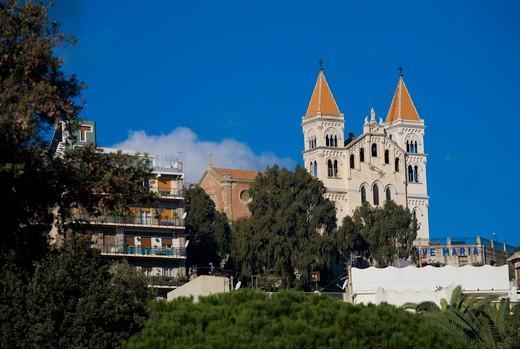 Santuary, Montalto, Sicily, Italy : Stock Photo