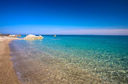 Stock Photo: 4261-46953 San Gregorio beach, Capo d'Orlando, Sicily, Italy