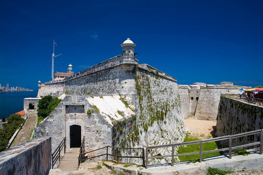 El Morro, L'Avana, Cuba Island, West Indies, Central America : Stock Photo