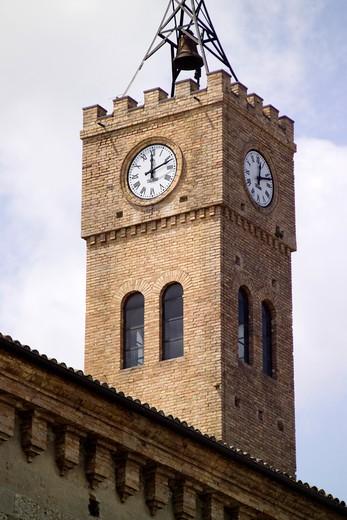 Stock Photo: 4261-4819 Tower, Duchi di Acquaviva palace, Atri, Abruzzo, Italy