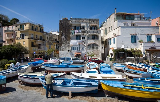 Stock Photo: 4261-48353 Ischia Ponte,Ischia island,Naples,Campania,Italy,Europe.