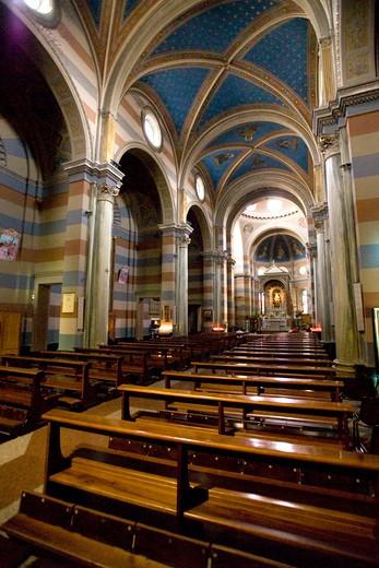 Madonna delle Grazie church, Teramo, Abruzzo, Italy : Stock Photo