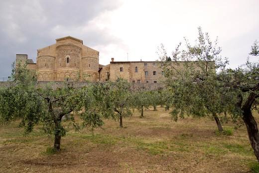 San Giovanni in Venere abbey, Fossacesia, Abruzzo, Italy : Stock Photo