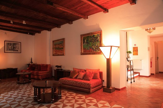 Hotel la Locanda delle Donne Monache, Maratea, Basilicata, Italy  : Stock Photo