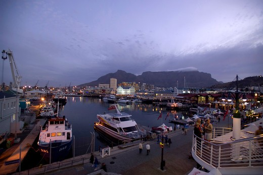 Stock Photo: 4261-5176 Victoria and Alfred Waterfront, Cape Town, South Africa, Africa