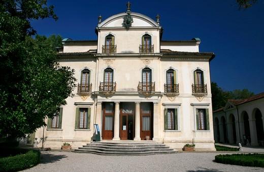 Villa Widmann Rezzonico Foscari, Mira, Veneto, Italy : Stock Photo