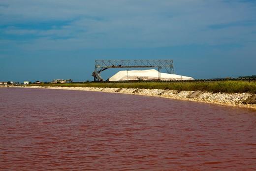 Stock Photo: 4261-56870 Saltworks, Margherita di Savoia, Puglia, Italy