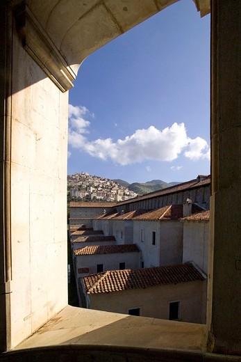 Stock Photo: 4261-6071 Certosa di San Lorenzo, Padula, Cilento, Campania, Italy, Europe