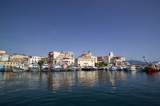 Stock Photo: 4261-6221 Seascape, Torre del Greco, Campania, Italy