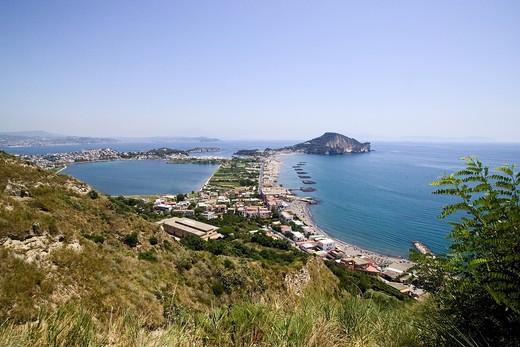 Stock Photo: 4261-6252 Miliscola beach, Bacoli, Gulf of Pozzuoli, Campi Flegrei, Napoli, Campania, Italy